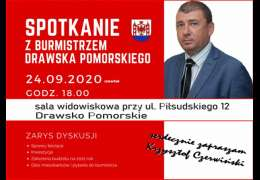 Burmistrz Czerwiński spotka się z mieszkańcami. Będzie o inwestycjach i sprawach bieżących