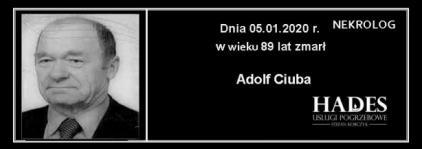 Ś.P. Adolf Ciuba