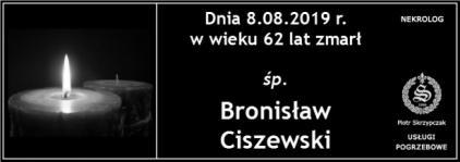 Ś.P. Bronisław Ciszewski