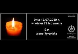Ś.P. Irena Tyrańska