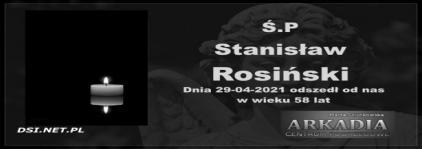 Ś.P. Stanisław Rosiński