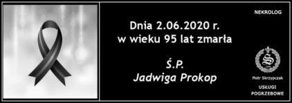 Ś.P. Jadwiga Prokop