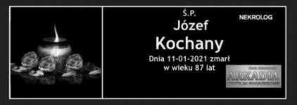 Ś.P. Józef Kochany