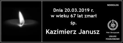 Ś.P. Kazimierz Janusz