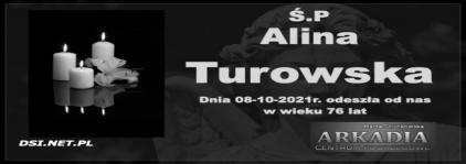 Ś.P. Alina Turowska