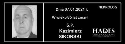 Ś.P. Kazimierz Sikorski