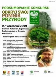 """2019-09-27 Finał konkursu """"Odkryj swój pomnik przyrody"""""""