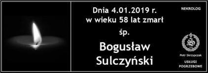 Ś.P. Bogusław Sulczyński