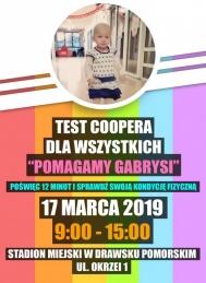 2019-03-17 Wiosenny Test Sprawności Fizycznej dla Gabrysi - Test Coopera