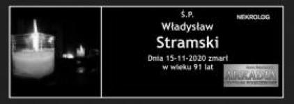 Ś.P. Władysław Stramski