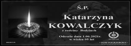 Ś.P. Katarzyna Kowalczyk