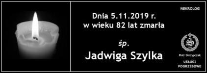 Ś.P. Jadwiga Szylka