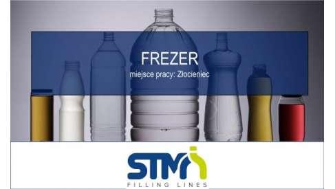 Frezer w STM Sp. z o.o.