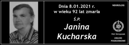 Ś.P. Janina Kucharska