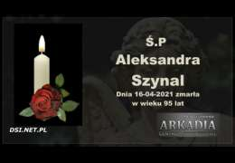 Ś.P. Aleksandra Szynal