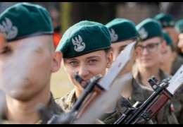 Pierwszy etap szkolenia żołnierzy służby przygotowawczej Legii Akademickiej w 2 Brygadzie Zmechanizowanej zakończył się złożeniem przysięgi na sztandar