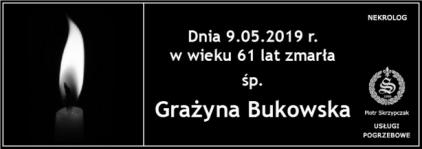 Ś.P. Grażyna Bukowska