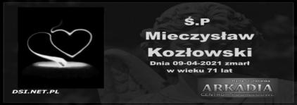Ś.P. Mieczysław Kozłowski