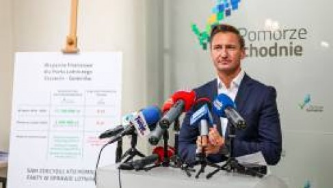 Port Lotniczy Szczecin – Goleniów. Marszałek województwa pokazuje jak wygląda finansowanie lotniska. Zachodniopomorskie wstrzymuje pomoc finansową