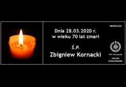 Ś.P. Zbigniew Kornacki
