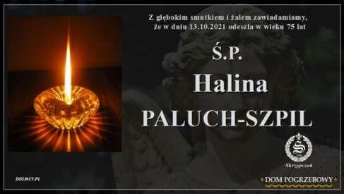 Ś.P. Halina Paluch-Szpil