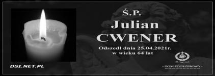 Ś.P. Julian Cwener