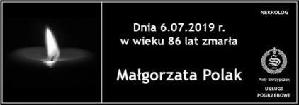Ś.P. Małgorzata Polak