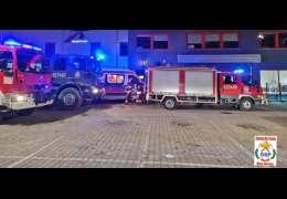 Strażacy podają szczegóły wypadku w sklepie w Złocieńcu. Wiemy co z pracownikiem