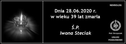 Ś.P. Iwona Steciak