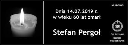 Ś.P. Stefan Pergoł