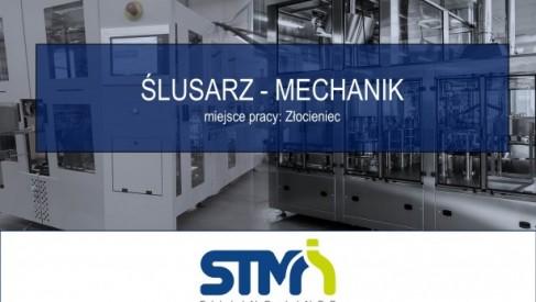 Ślusarz-Mechanik w STM Sp. z o.o.