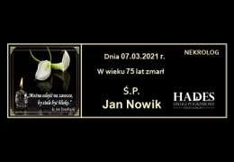 Ś.P. Jan Nowik