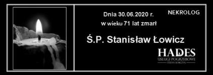 Ś.P. Stanisław Łowicz