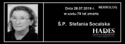 Ś.P. Stefania Socalska