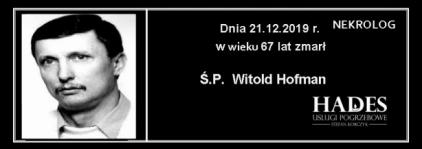 Ś.P. Witold Hofman