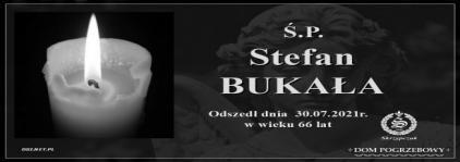 Ś.P. Stefan Bukała