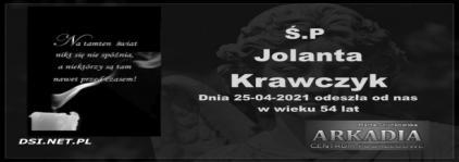 Ś.P. Jolanta Krawczyk