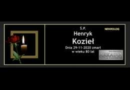 Ś.P. Henryk Kozieł