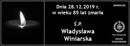 Ś.P. Władysława Winiarska