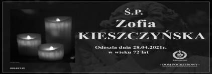 Ś.P. Zofia Kieszczyńska