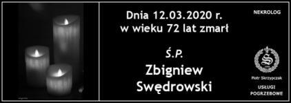 Ś.P. Zbigniew Swędrowski