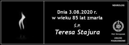 Ś.P. Teresa Stajura