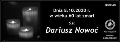 Ś.P. Dariusz Nowoć