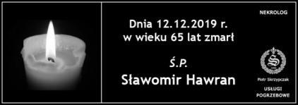 Ś.P. Sławomir Hawran