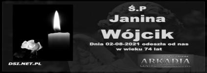 Ś.P. Janina Wójcik