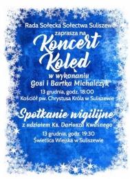 2019-12-13 Koncert Kolęd w Suliszewie