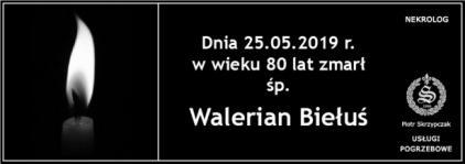 Ś.P. Walerian Biełuś
