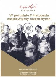 2019-11-11 Wspólne śpiewanie humnu