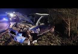 Wypadek na trasie Osiek Drawski – Złocieniec