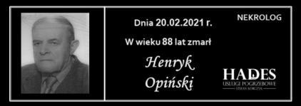 Henryk Opiński